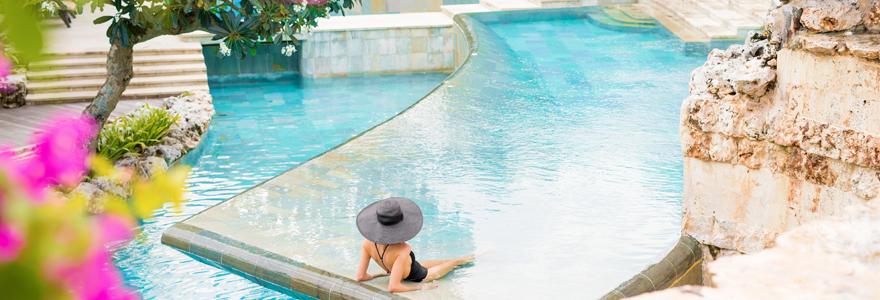 différentes piscines