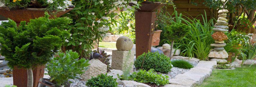 Aménagement de jardins et d'espaces verts