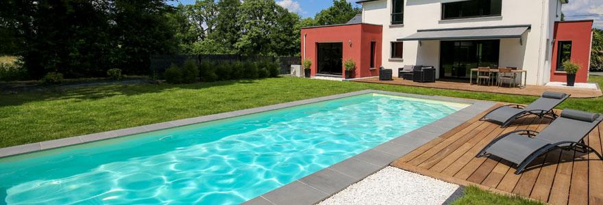 couloir de nage jardin